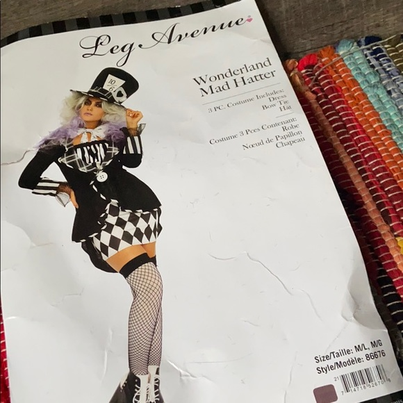 Leg Avenue Other - Mad Hatter Halloween costume